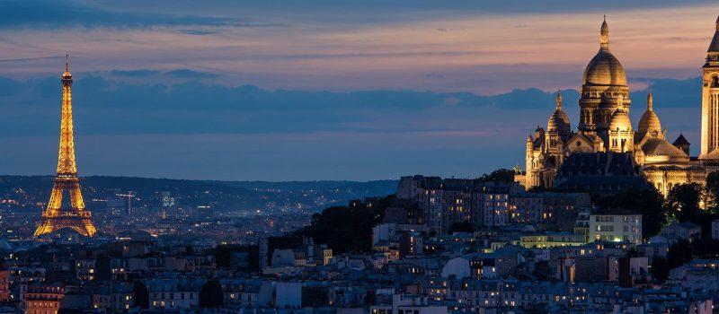 Skrydziai i Paryziu