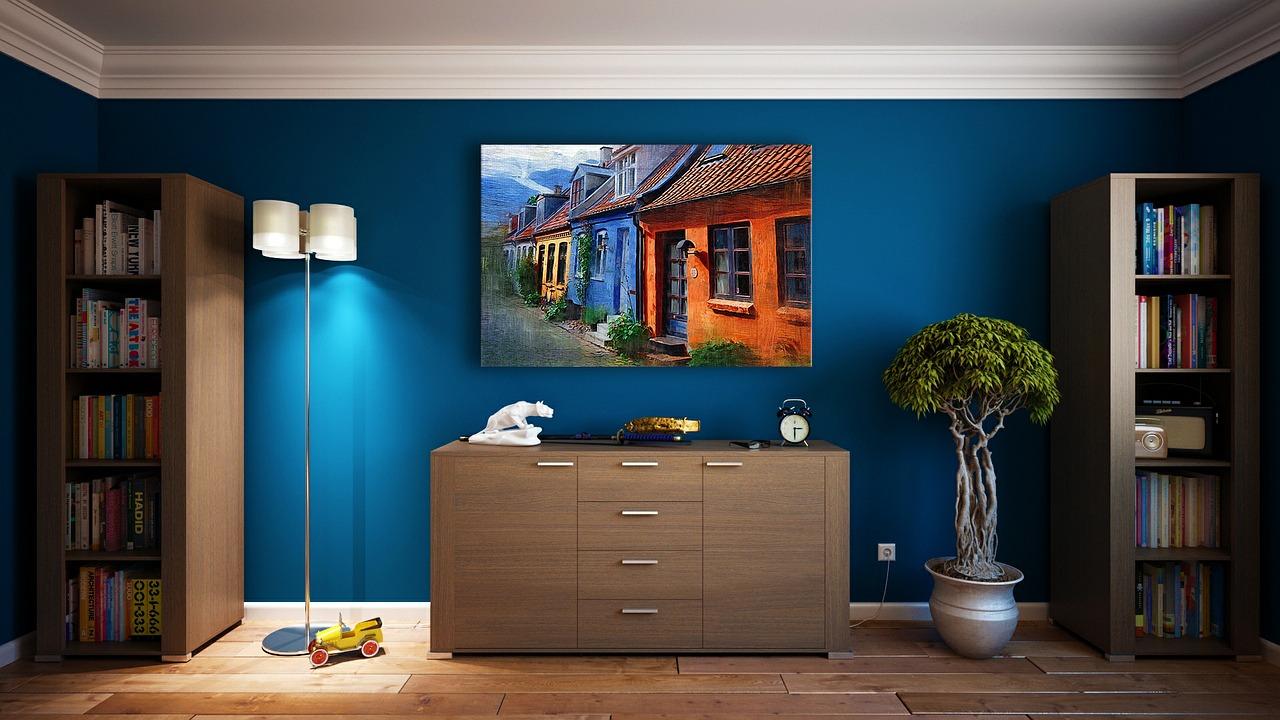 Miegamojo sienu spalvos